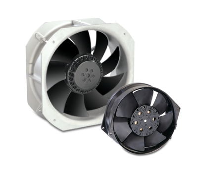 Compact Fans - All Metals (DC)